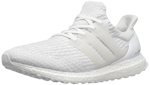 adidas Men's Ultraboost Running Shoe, Crystal White, 10.5 M US