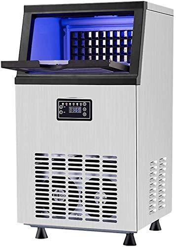 Auto Clean Für Bar Startseite Supermärkte, Edelstahl Mit Speicherkapazität 36 Cubes Eismaschine, Gewerbe Eismaschine Weiß 36 * 35 * 60Cm