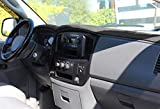 AKMOTOR Dashboard Cover Dash Cover Mat Custom Fit for Dodge Ram 1500/2500/3500 2006-2008,2500/3500 2009 Without Dash Speakers (06-08 Black) KJ16