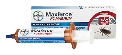 Bayer 79432135 Maxforce FC Magnum Roach Killer Bait Gel Insecticide, Clear Light Yellow