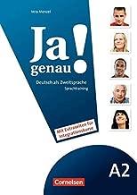 JA Genau!: Sprachtraining A2 Band 1 & 2 MIT Differenzierungsmaterial (German Edition)