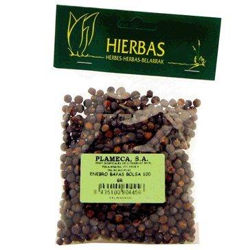 Plameca Enebro Bayas Bolsa 100Gr. 100 ml