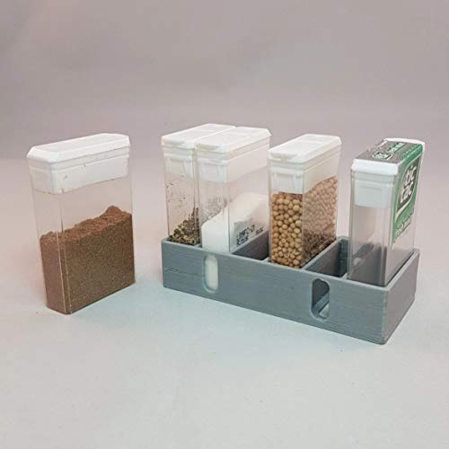 Mini-Gewürzregal für Wohnmobil, Wohnwagen, Boot oder Camping Geringes Gewicht.