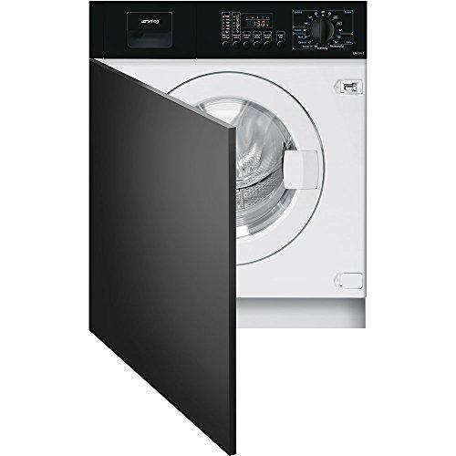 Smeg LBA10N-2 Incasso Caricamento frontale 7kg 1000Giri min A++ Nero, Bianco lavatrice