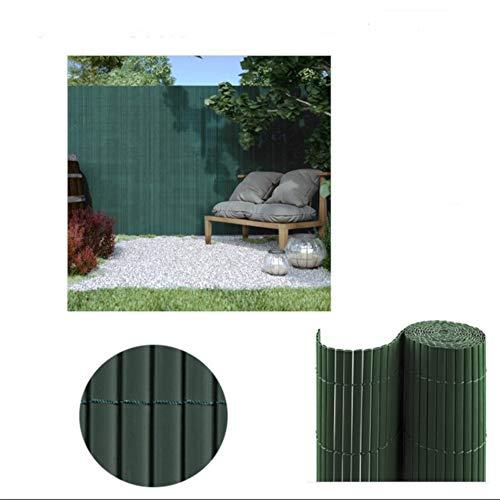 Comercial Candela CAÑIZO PVC Doble Cara Verde 1X3 Metros