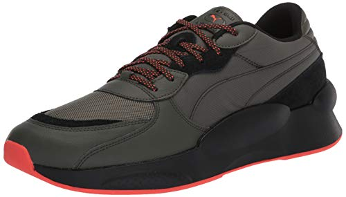 PUMA RS 9.8 Sneaker, Forest Night Black, 10 M US