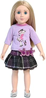 Fashionable Strolling Outfit for 18 Inch Slim Dolls Like Carpatina and Magic Attic