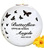 Memorial Gifts Sympathy Candle - Memorial Candles for Loss of Loved One, Loss of a Mother Sympathy Gifts, Sorry For Your Loss with a Memorial Candle Holder in Memory, Bereavement Gifts, Pet Loss Gifts