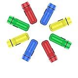 YoungRich 24PC Antorcha Mini Linterna Llavero Colores Surtidos Tamaño de Bolsillo Portátil Cadena Múltiple Uso para...