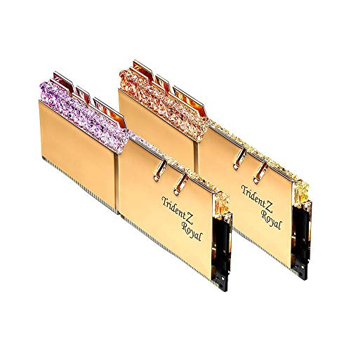 Docooler DDR4 RAM Memória 16G (8Gx2) RGB 3600MHz F4-3600C18D-16GTRG G.Skill