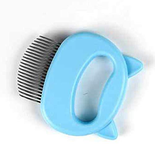 Lorenlli Cat And Dog Shaving Massage Comb Pet Hair Removal Massaging Shell Comb Special Shaving Artifact Pet Artifact Shell Comb