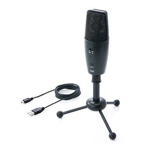 サンワダイレクト PCマイク WEB会議マイク 高集音 USB接続 全指向性&単一指向性 400-MC001