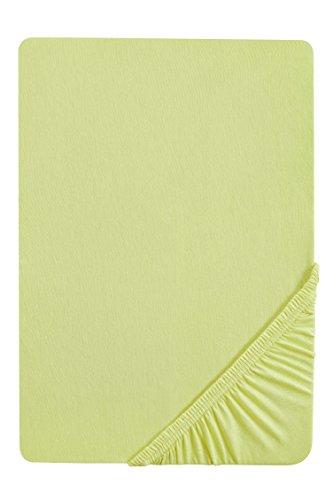 Castell 77113/018/087 - Sábana bajera ajustable elástica para cama, Verde Pistacho, 90 x 190 cm
