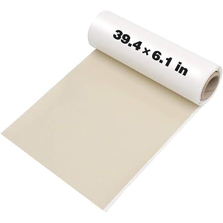 Beige-Gelb 4X Selbstklebender Reparaturflicken f/ür Leder und Vinyl Original 20cm x 28cm In 25 Farben erh/ältlich Pelle Patch