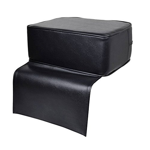 Z ZTDM Barber Shop Leather Booster Seat for Kids Child Hair Cutting, Salon Spa Styling Chair Soft Cushion 5.9