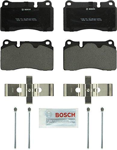 Bosch BP1129 QuietCast Premium Semi-Metallic Disc Brake Pad Set For Select Chevrolet Corvette; Ferrari California; Volkswagen Touareg; Front & Rear