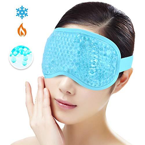 Máscara de ojos hielo para durmiendo