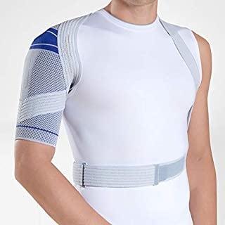 Bauerfeind - OmoTrain - Shoulder Support - Breathable Knit Shoulder Brace for Pain Relief for Injured or Strained Shoulders, Helps Maintain Natural Movement