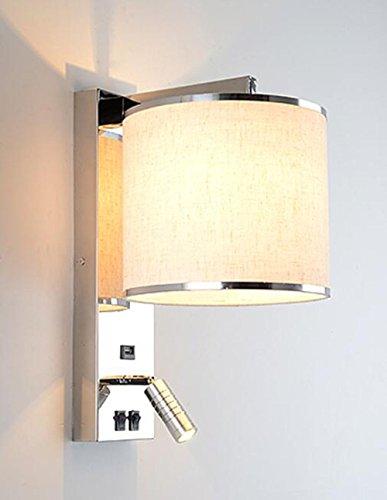 JJZHG Wandlamp, waterdicht, wandverlichting, wandlamp, sfeer, hotelkamer, slaapkamer, eetkamer, nacht leeslamp bevat: wandlamp, stoere wandlampen, wandlampen, design