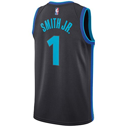 Dennis Smith Jr Dallas Mavericks #1 Gray Official Youth 8-20 City Edition Swingman Jersey (X-Large 18/20)