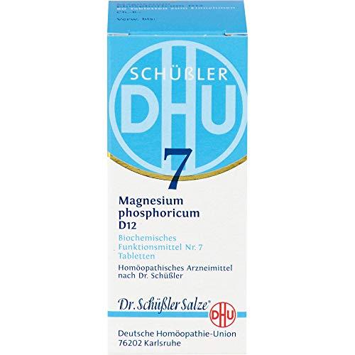 DHU Schüßler-Salz Nr. 7 Magnesium phosphoricum D12 Tabletten, 80 St. Tabletten
