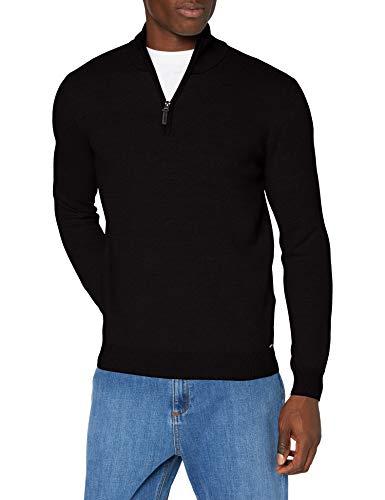 Superdry Heren Orange Label Henley Pullover Sweater