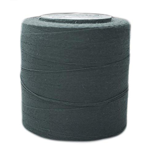 Heavy Duty 100% Organic Cotton TEX 70 Sewing Thread - 300 Meter Spool - Coal