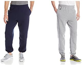 Russell Athletic Men's Dri-Power Closed-Bottom Sweatpants with Pockets