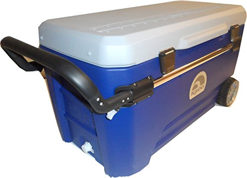 Igloo Glide Pro Cooler, Blue/Grey, 110-Quart