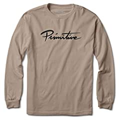 Men's Long Sleeve Nuevo Script Long Sleeve T Shirt Graphic print on front. Back is blank. 100% Cotton fabric materials. Style Number: PC2514 New Genuine, 100% Authentic Official Licensed Product