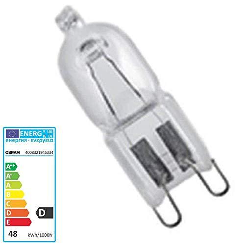 Halogenlampe 66748 Halopin Pro 48 Watt 230V G9 - Osram