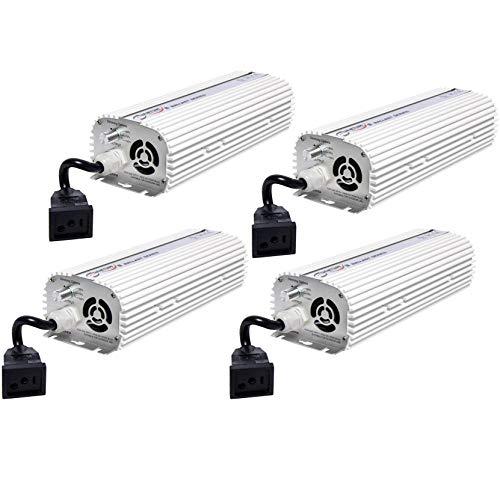 (4) QUANTUM 600W Watt HPS & MH Dimmable Digital Grow Light Lamp Ballasts   QT600