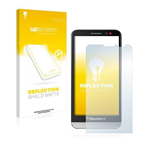 upscreen Entspiegelungs-Schutzfolie kompatibel mit BlackBerry Z30 – Anti-Reflex Bildschirmschutz-Folie Matt