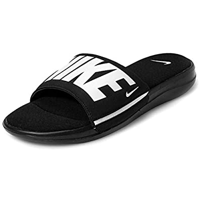 Nike Men's Ultra Comfort 3 Slide, Black/White, Size 9.0