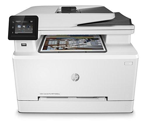 HP Color LaserJet Pro M280nw Multifunktions-Farblaserdrucker (Drucken, scannen, kopieren, LAN, Airprint) weiß