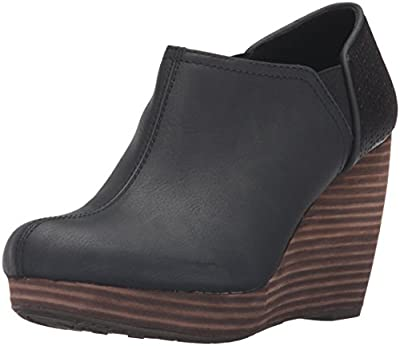 Dr. Scholl's Shoes Women's Harlow Ankle Boot, Black, 8 M US