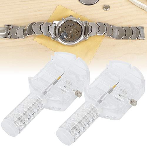 2 piezas de ajuste de correa de reloj, pasador de conexión de reloj de pulsera, ajuste de distancia de reloj, herramientas de reparación de relojes.