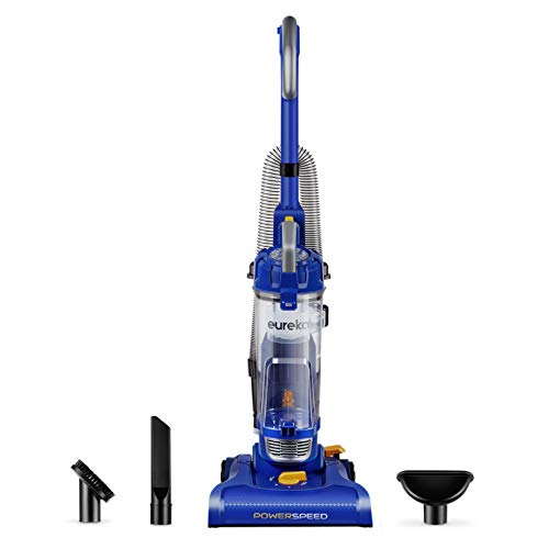 Eureka NEU182A PowerSpeed Lightweight Bagless Upright Vacuum Cleaner, Blue,...