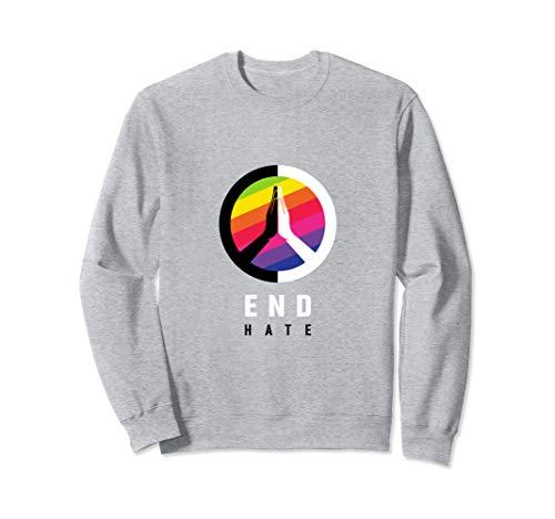 End Hate - JVY Creations Sweatshirt
