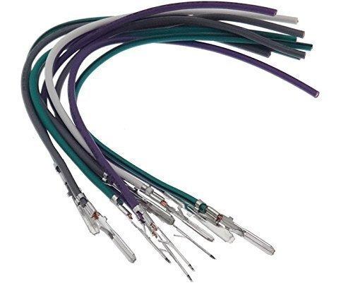 Cable Female Pin para Coche adaptershop 10/x Micro Temporizador Pins Mini ISO Conector contactos