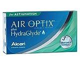 Alcon Air Optix plus HydraGlyde for Astigmatism Monatslinsen weich, 6 Stück / BC 8.7 mm / DIA 14.5 mm / CYL -2.25 / ACHSE 20 / -2.0 Dioptrien