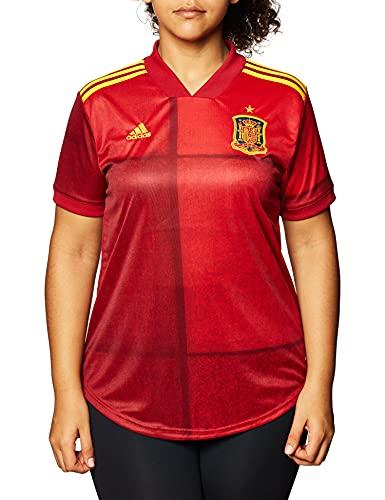 adidas Fef H JSY Y Camiseta Primera equipación, Mujer, Victory Red, M