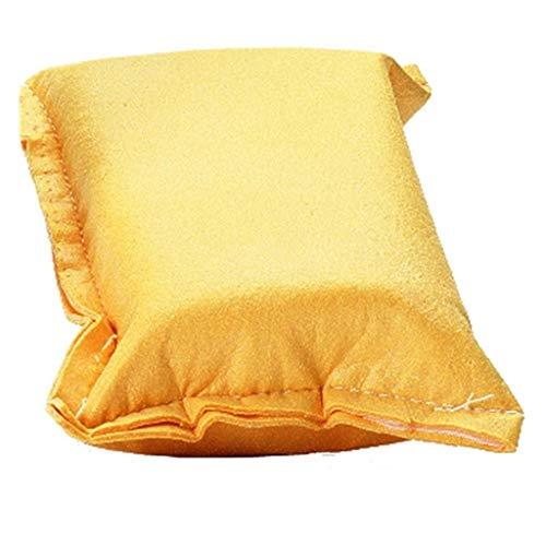 JOOLA Unisex– Erwachsene Reinigungsschwamm-84045 Reinigungsschwamm, Gelb, One Size