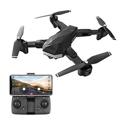 WiFi FPV GPS HD Kamera Drohne RC Faltbarer Quadcopter Mit Zwei Kameras 720P / 1080P / 4K / 2,4G / 5G Live-Video-Drohne, Einstellbarer Weitwinkel, Follow Me, 18 Minuten Akkulaufzeit, Optischer Fluss