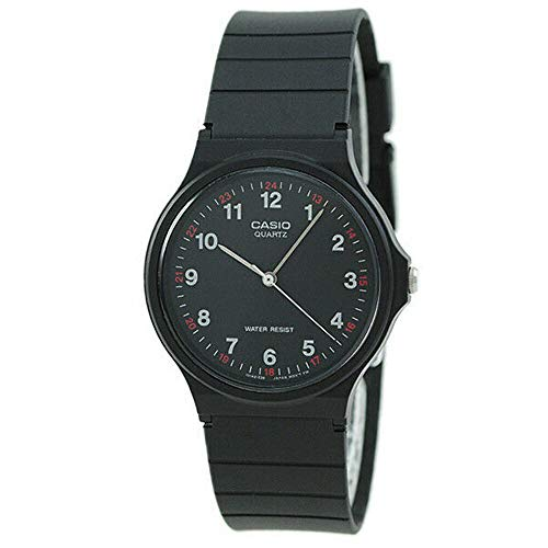 Best Waterproof Watches for Nurses - Casio MQ24-1B 3- Water Resistant Watch