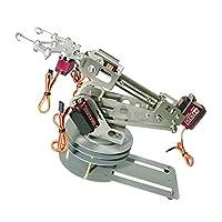 F Fityle 6 DoF6軸CompatleDIYロボットアームキットとモーションコントロールソフトウェアおよびソースコードダウンロードリンク