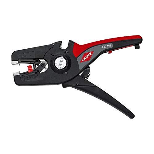 Knipex PreciStrip 16 automatische Abisolierzange 195 mm 0,08-16 mm² 1252195SB