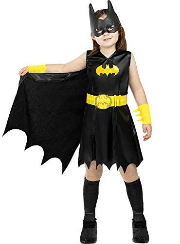 Funidelia | Costume Batgirl Ufficiale per Bambina Taglia 5-6 Anni ▶ Barbara Gordon, Supereroi, DC Comics - Multicolore