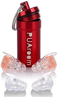 PUAroom 高性能耳栓 ライブ用 イヤープロテクター 2ペ騒音フィルター付き …