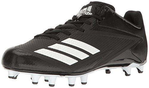 adidas Men's Shoes | 5-Star Baseball Cleats, Black/White/Metallic Silver, (11 M US)